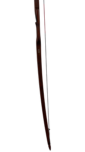 Bamboo Backed Hickory Longbow 72""