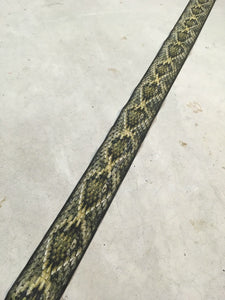 Artificial Snakeskin Backing - Rattlesnake