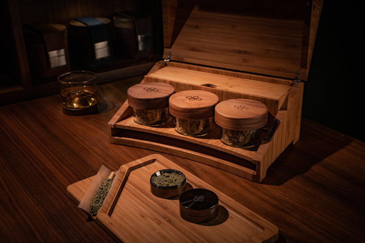 Locking Bamboo Humidor