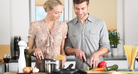 cooking together to improve sex life