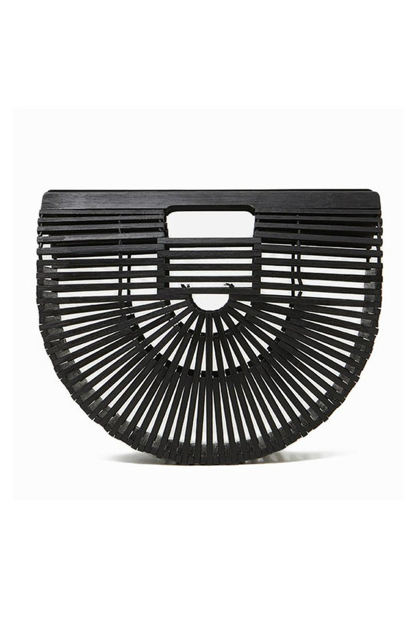 Black Bamboo Bag
