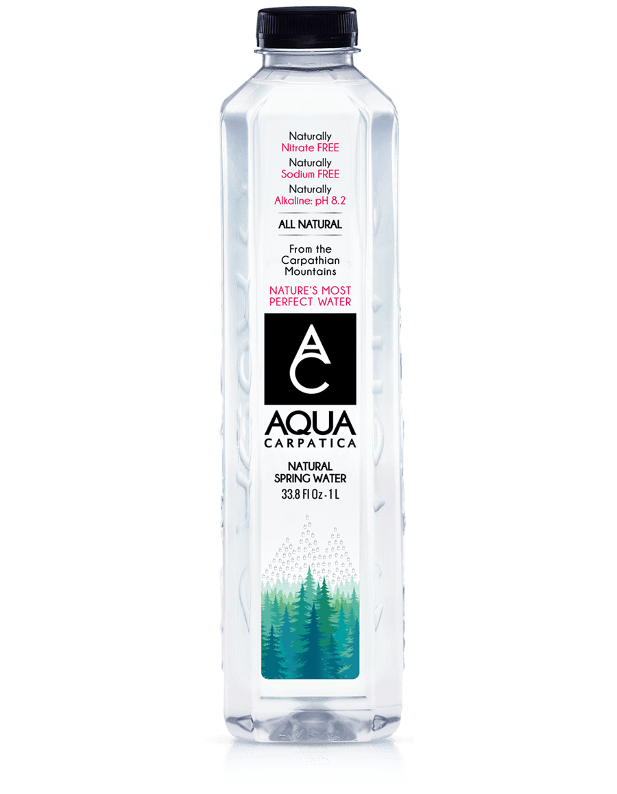Aqua Carpatica Natural Spring Water 1L (12 Count)