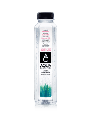 Aqua Carpatica Natural Spring Water 500ml (24 Count)
