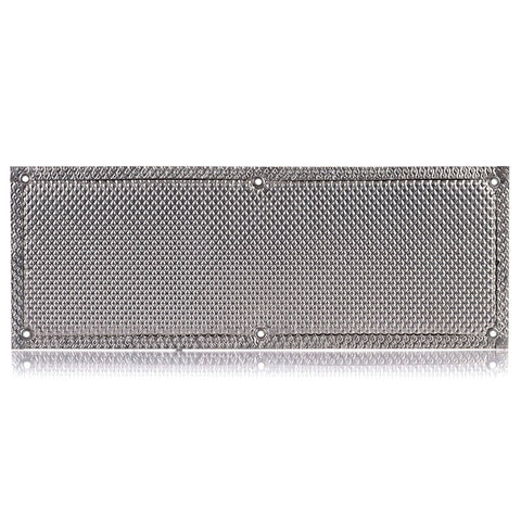 Stainless Steel Heat Shield - 8 x 22