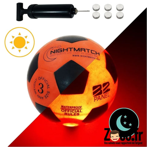 Ballon Football Lumineux Nightmatch Ballon