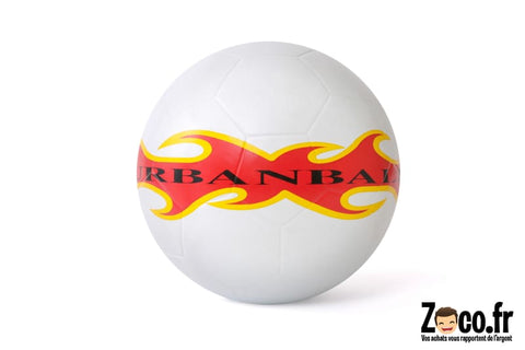 Ballon Urbanball Blanc Football Freestyle White Fire Ballon