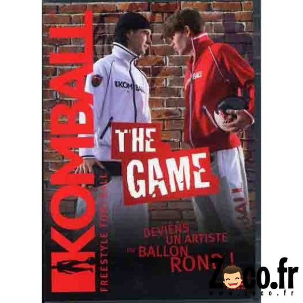 Dvd Komball The Game - Foot Freestyle Dvd