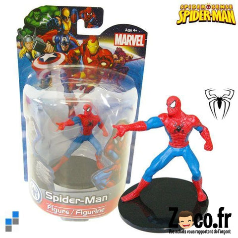 Figurine Spiderman De Marvel Sur Socle Figurine