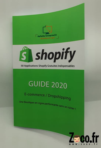 Livre Shopify - 50 Applications Gratuites Indispensables Guide 2020 | E-Commerce / Dropshipping