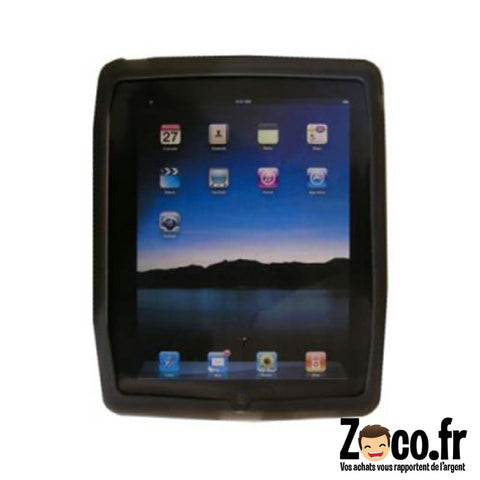 Protection Ipad Noire Silicone Protection