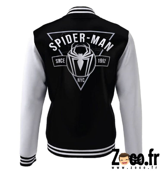 Teddy Spiderman Marvel - Spider College Jacket Veste
