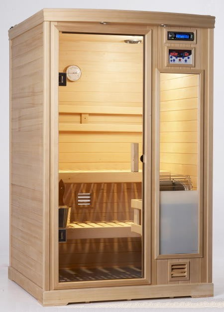 1.7KW Portable Pre-Built Sauna Room Kit