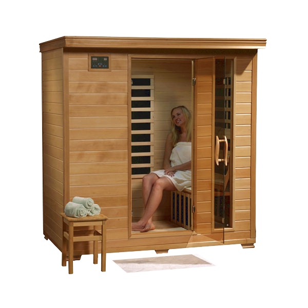 Hanko™ 4-Person Carbon Infrared Sauna Room Kit