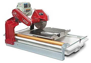 Tile saw MK-101-24 1.5 HP c/w 10 in blade, no stand, no cutting kit, CSA approved Made in USA