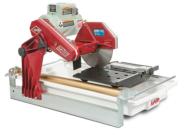 MK-101 tile saw 1.5 HP c/w 10 inch blade, no stand CSA approved Made in USA