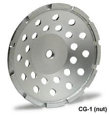 Cup wheel 4 inch single row  7/8-5/8 arbour MK-304CG-1 Premium