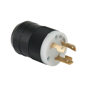 Male Plug 30A 250V 2 Pole 3 Wire L6-30 Marinco