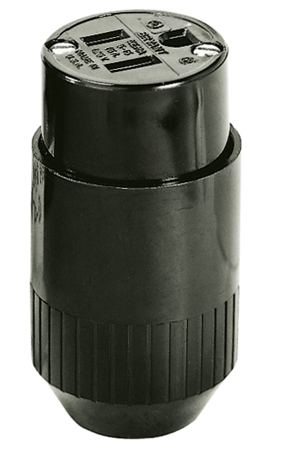 Female Connector 15A 125V 2 Pole 3 Wire 5-15 Bryant
