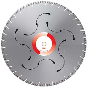 Diamond blade 14 inch concrete MK-925DSLX 10mm Segment Height