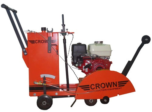 Concrete saw walk behind 18 inch blade capacity Honda 13 HP