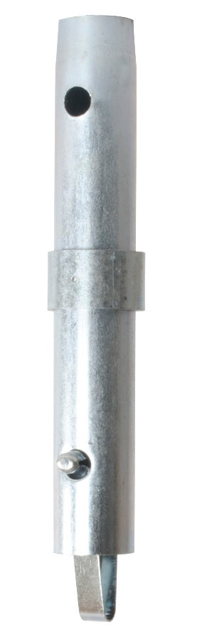 Coupling pin galvanized with 1 inch collar