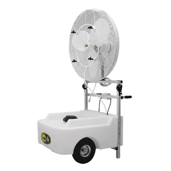 Fan 30 inch misting 3 Speed oscillating 1/4 HP 5,010 CFM Made in USA