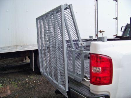 Truck loading ramp 1,000 LB capacity - Made in Canada