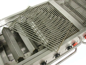 grate, stainless steel set for MCB-36