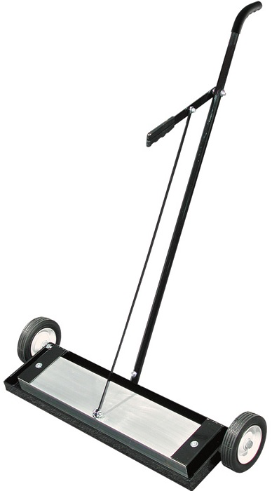 Magnetic sweeper 24 inch, with release handle