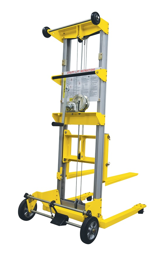Material lift 400 LB up to 11 feet 8