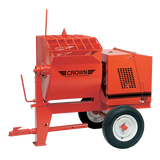 Mortar Mixer 8 cubic feet with 25:1 ratio gear box and optional mixing blades