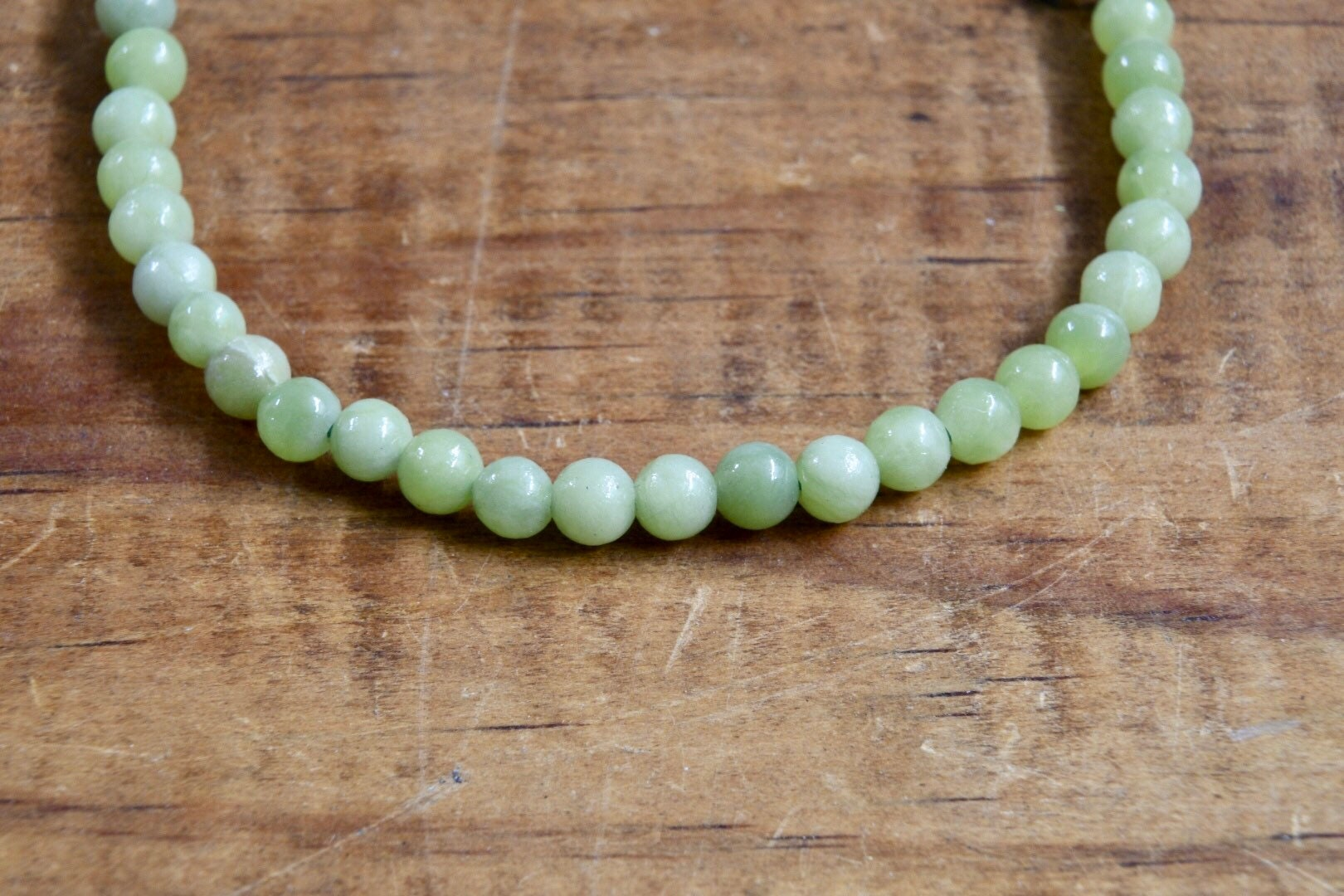 Chinese Jade Bracelet (4mm)