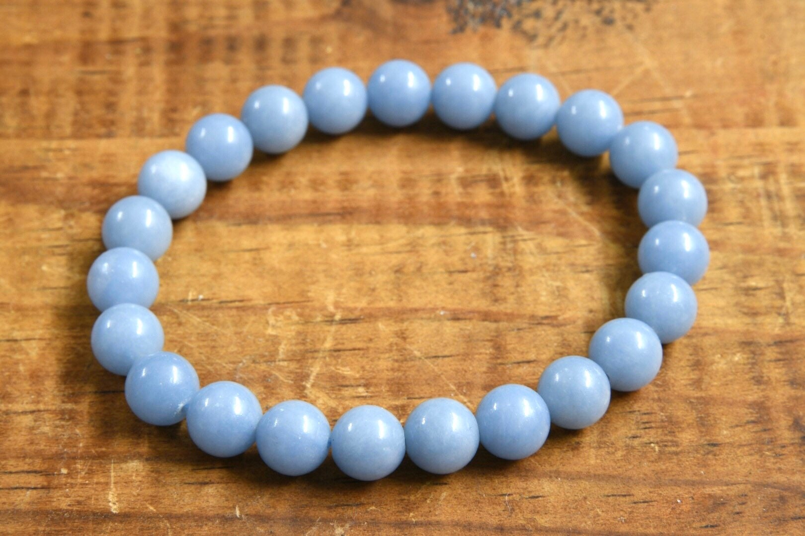 Angelite Bracelet (8mm)