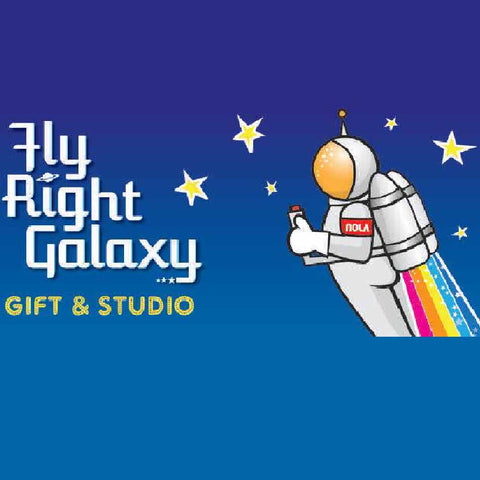 Fly Right Galaxy - NOLA REPUBLIC T-SHIRT CO.