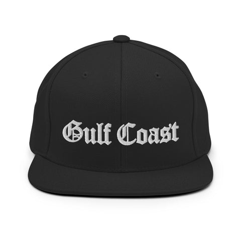 GULF COAST Snapback Hat - NOLA REPUBLIC T-SHIRT CO.