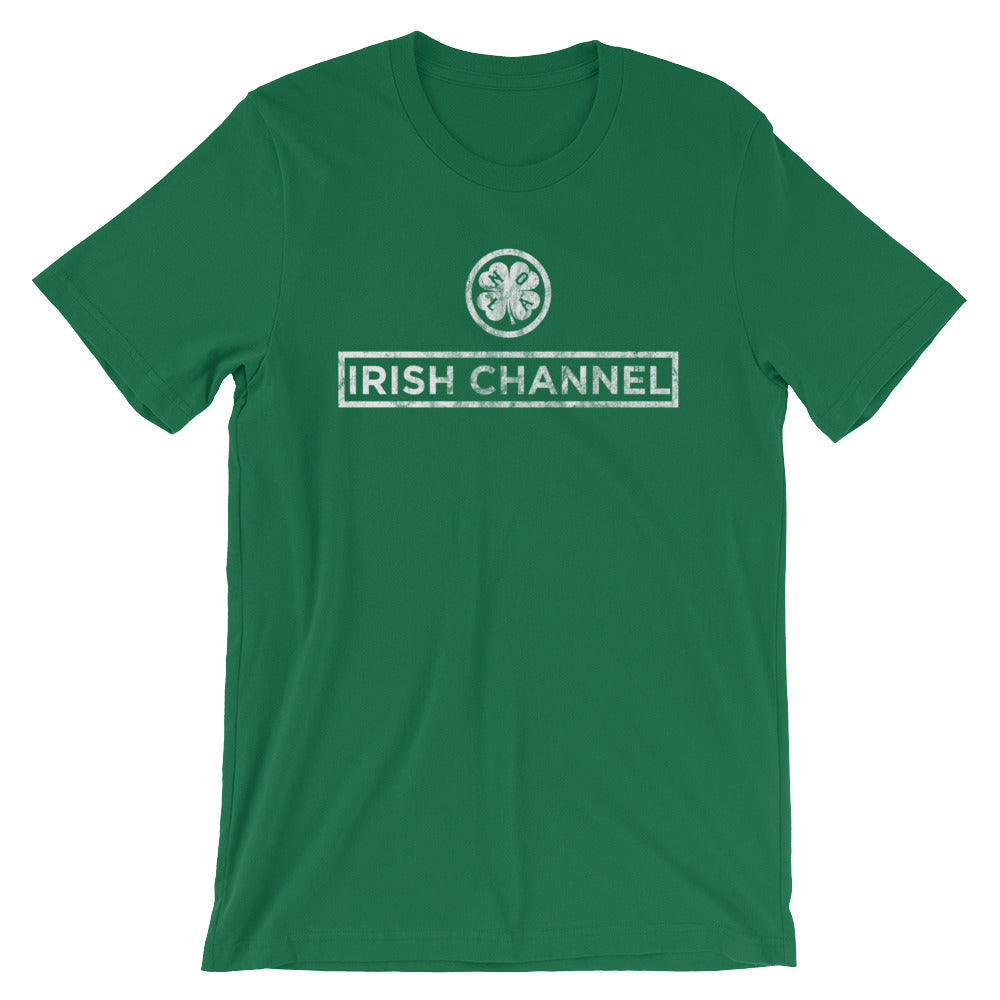 Irish Channel Shamrock Unisex T-Shirt - NOLA T-shirt, New Orleans T-shirt