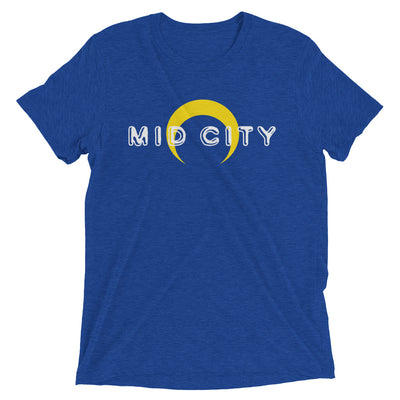 MID CITY New Orleans Tri-blend Short Sleeve T-Shirt - NOLA T-shirt, New Orleans T-shirt