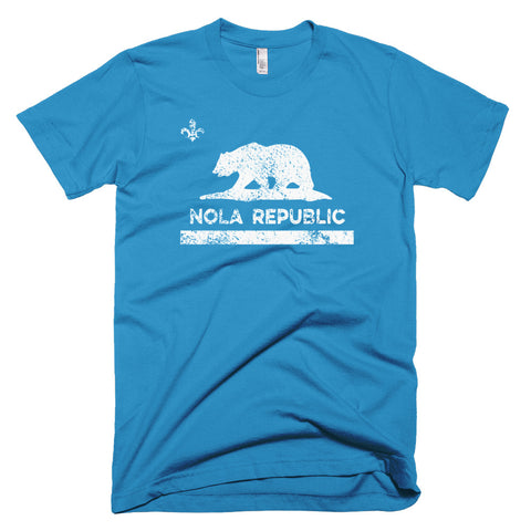 OG NOLA REPUBLIC LA Black Bear Unisex T-Shirt - NOLA T-shirt, New Orleans T-shirt
