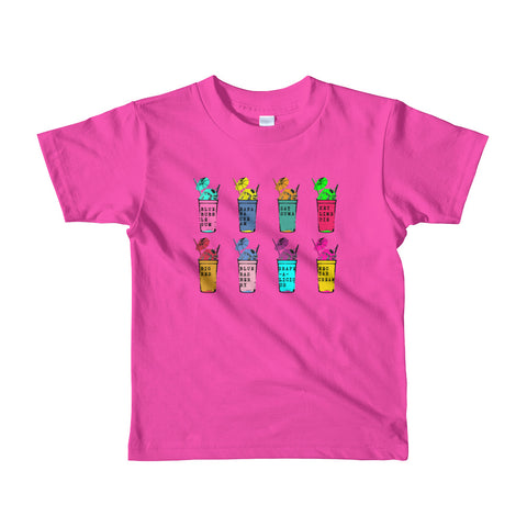 Sno-Ball Flavorz Kids T-shirt - NOLA T-shirt, New Orleans T-shirt