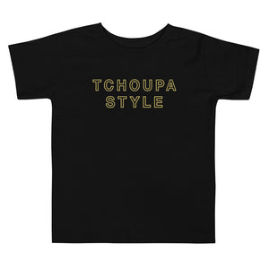 TCHOUPA STYLE ™️ Toddler Short Sleeve T-Shirt