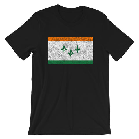 New Orleans IRISH Flag Unisex T-Shirt - NOLA T-shirt, New Orleans T-shirt