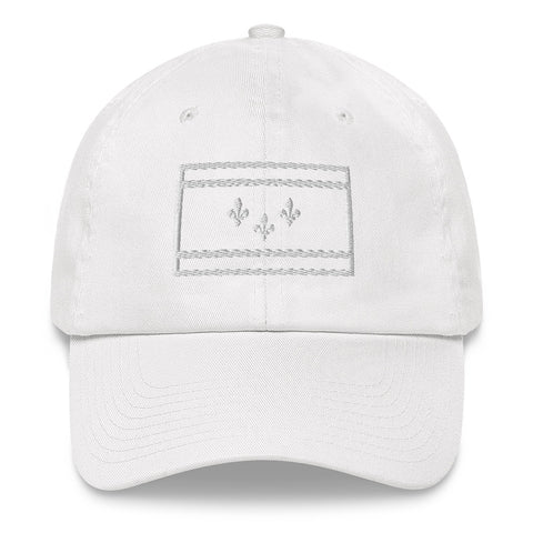 NOLA Flag Chino Hat - NOLA T-shirt, New Orleans T-shirt