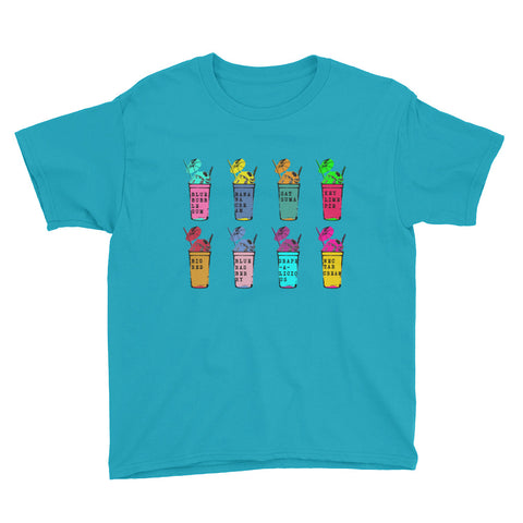 Sno-Ball Flavorz Youth Short Sleeve T-Shirt - NOLA T-shirt, New Orleans T-shirt
