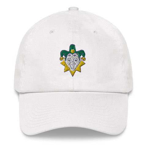 Mardi Gras Jester Chino Hat - NOLA T-shirt, New Orleans T-shirt