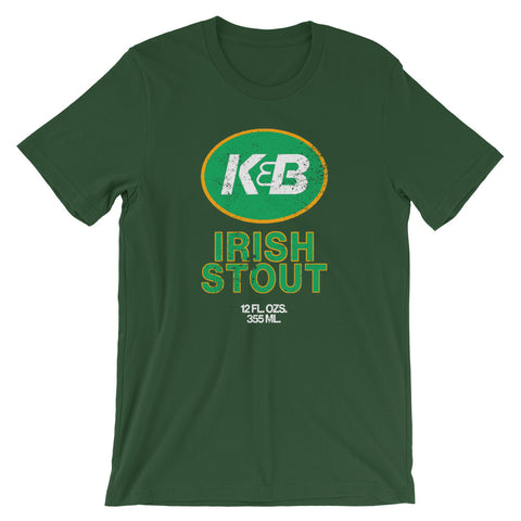 Vintage K&B Irish Stout Beer Unisex T-Shirt - NOLA T-shirt, New Orleans T-shirt