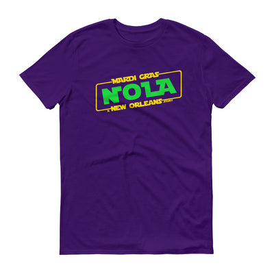 Mardi Gras A New Orleans Story Unisex Short-Sleeve T-Shirt - NOLA T-shirt, New Orleans T-shirt