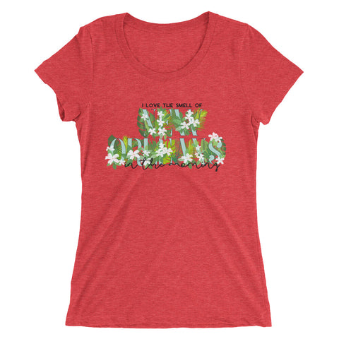 Smells Like NOLA Women's T-Shirt - NOLA T-shirt, New Orleans T-shirt