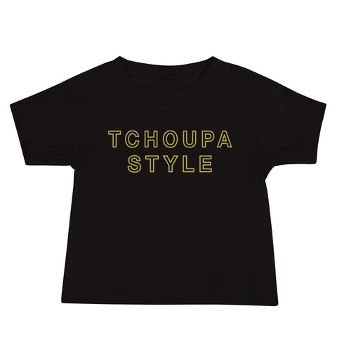 TCHOUPA STYLE ™️ Baby Short Sleeve T-Shirt - NOLA T-shirt, New Orleans T-shirt