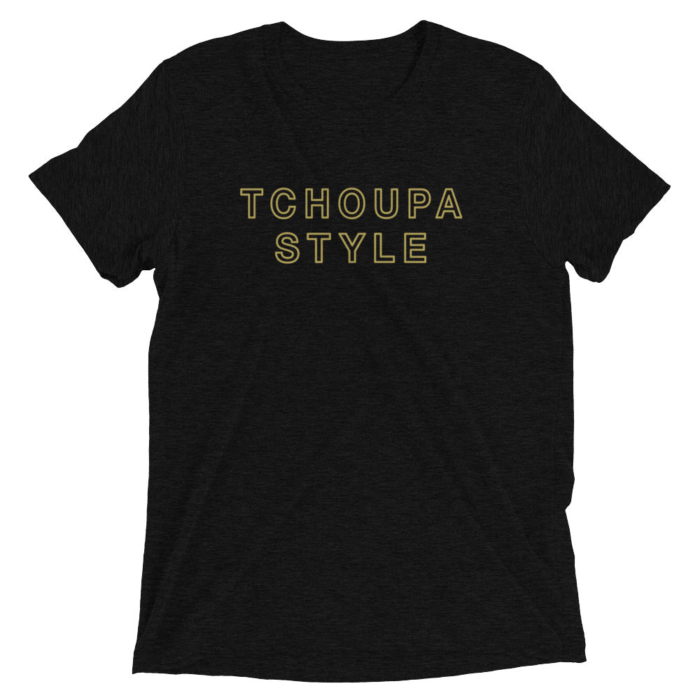 TCHOUPA STYLE Tri-blend Unisex Short Sleeve T-shirt, Choppa Style T-Shirt, Tchoupitoulas T-Shirt