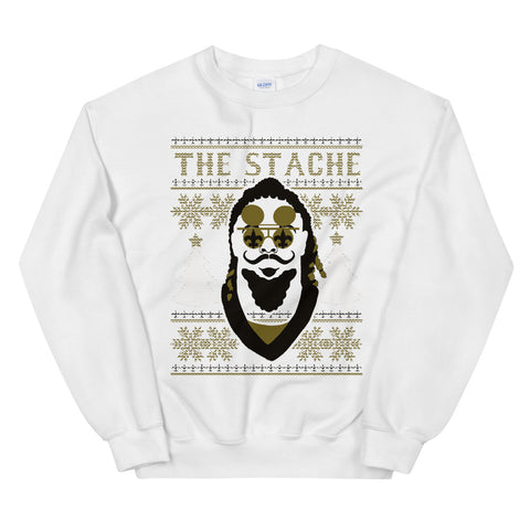 The Stache Ugly Christmas Sweater - NOLA T-shirt, New Orleans T-shirt